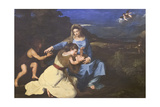 Madonna and Child with Saints  C1625  after Titian