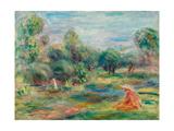 Landscape at Cagnes  C 1907-1908