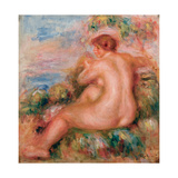 Female Nude in a Landscape  1915