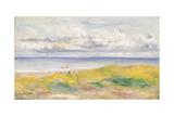 On the Cliffs; Sur La Falaise  1880