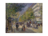 The Boulevards (Les Grands Boulevards)  1875