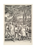 Two Groups of Peasants Following the Pilgrimage of Epilepsy  C1642