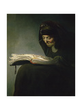 Portrait of Rembrandt's Mother