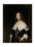 Portrait of a Woman  Possibly Maria Trip  1639