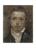 Self-Portrait  C1824 (Black Chalk  Heightened with White  on Buff Paper)