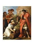 Tarquin the Elder Consulting Attius Navius  C1690