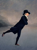 The Reverend Robert Walker Skating on Duddingston Loch  1795
