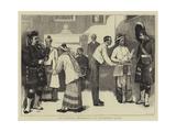 The Burmese Ambassadors at Edinburgh Castle