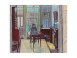 Interior of Room at 6 Cambrian Road  Richmond  1914