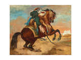 Turk Mounted on Chestnut Coloured Horse  C 1810