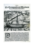 Ship from 'India Orientalis'  1598