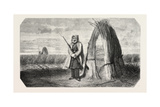 A Turkish Sentinel  Watercolor  1855