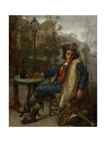 Young Italian Street Musician  C1877
