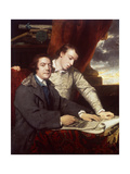 James Paine  Architect and His Son  James  1764