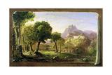 Study for Dream of Arcadia  1838
