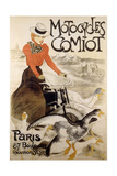 An Advertising Poster for 'Motorcycles Comiot'  1899