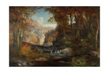 A Scene on the Tohickon Creek: Autumn  1868