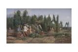 Hop Garden  1858