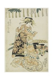 The Actor Iwai Matsunosuke as a Courtesan