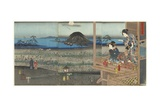 The Scene of Akashi  April 1853