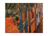 Falling Autumn Leaves  1888