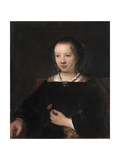 Young Woman with a Carnation  1656