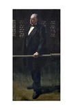Charles Bradlaugh at the Bar at the House of Commons  C1892-93