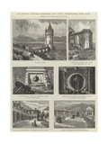 The Liverpool Corporation Waterworks  Lake Vyrnwy  Montgomeryshire  North Wales
