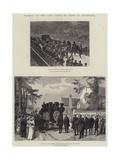 Funeral of the Comte De Paris at Weybridge