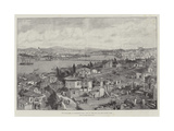 The Massacres at Constantinople  View of the City and the Golden Horn