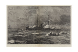 The Naval Review and Sham Fight at Portsmouth  Torpedo Boats Attacking the Colossus