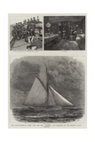 The Anglo-American Yacht Race for the America Cup  Sketches on the English Yacht Galatea