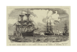 The Recent Turkish Mission to Egypt  Foreign Ironclads in the Harbour of Alexandria  21 October