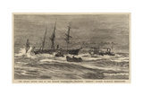 The Recent Severe Gale in the English Channel  the Steamship Hankow Outside Plymouth Breakwater
