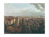 View of Oxford from the Gallery in the Observatory  Engraved by J Bluck  1st July 1814
