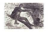 A Sharp-Shooter on Picket Duty  1862
