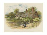 In Shakspere's Land  Anne Hathaway's Cottage at Shottery  Stratford-On-Avon
