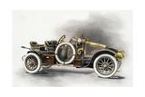 Torpedo Type Cg Renault Motor Car  Renault Catalogue  1911  France  20th Century
