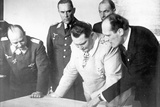 Herman Goering During a Visit to the Messerschmitt Works  27th February 1941