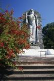 Buddha Statue in Front of Bandaranayaka Memorial International Conference Hall  Colombo  Sri Lanka