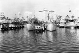 Yachts Dock on the North Bank of the Entrance to the Miami River  C1930