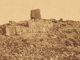 Central Section of the Great Platform of Tongariki  Easter Island  December 1886