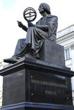Statue of Nicolaus Copernicus (1473-1543) by Thorvaldsen (1770-1844) Warsaw