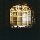 Art Nouveau-Style Stage in Tabarin Hall of Central Cinema  1923-1924  Sanremo  Liguria  Italy