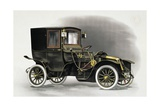 Coupe Automobile with Driver's Seat Uncovered  1911  20th Century