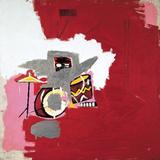 Max Roach Reproduction d'art par Jean-Michel Basquiat