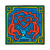 Untitled Pop Art Reproduction d'art par Keith Haring