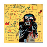 All Coloured Cast (Part Iii) Giclée par Jean-Michel Basquiat