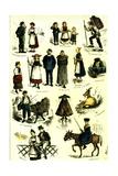 Switzerland Swiss Folk in 1883