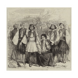 Greek Brigands Brought Prisoners to Athens